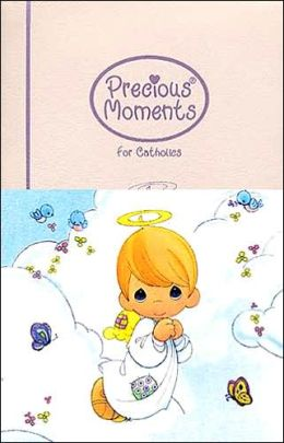 Precious Moments Bible for Catholics: New Revised Standard Version (NRSV), violet leatherflex