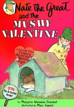 Nate the Great and the Mushy Valentine (Turtleback School & Library Binding Edition)