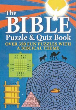 Bible Puzzle & Quiz Book