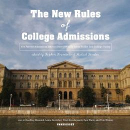 New Rules of College Admissions