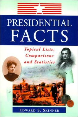 Presidential Facts: Topical Lists, Comparisons and Statistics
