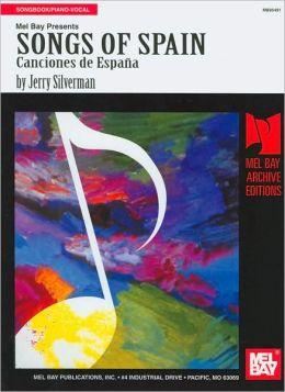Songs of Spain: Canciones de España (Archive Editions Series)
