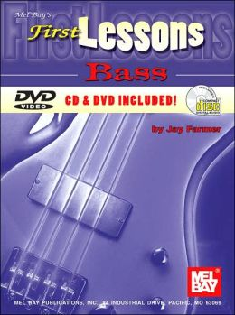 First Lessons Bass (Book/CD/DVD)