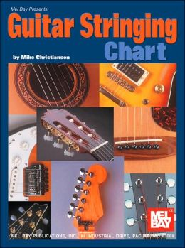 Guitar Stringing Chart