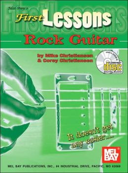 First Lessons Rock Guitar (Book/CD)