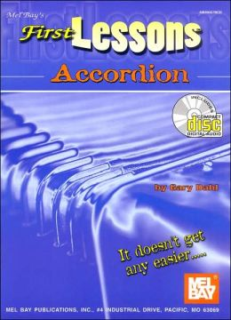 First Lessons Accordion (Book/CD)