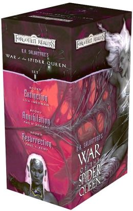 Forgotten Realms: War of the Spider Queen Gift Set (Volume 2)