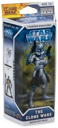 Star Wars Miniatures The Clone Wars - Booster Pack