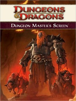 Dungeon Master's Screen 4th Edition