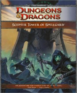 Scepter Tower of Spellgard: Adventure FR1