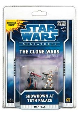 Star Wars Miniatures Clone Wars Showdown at Teth: A Star Wars Miniatures Map Pack