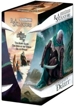 Forgotten Realms: The Legend of Drizzt Boxed Set, Books 11-13