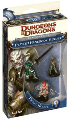 Player's Handbook Heroes: Series 1 - Primal Heroes 1 (D&D Miniatures Product Series)