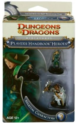 Player's Handbook Heroes: Series 2 - Martial Characters 3: A D&D Miniatures Accessory