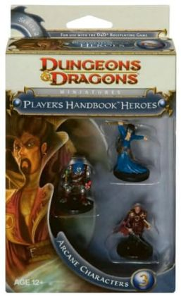 Player's Handbook Heroes: Series 2 - Arcane Characters 3: A D&D Miniatures Accessory