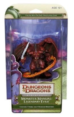 Monster Manual: Legendary Evils: A D&D Miniatures Booster Expansion