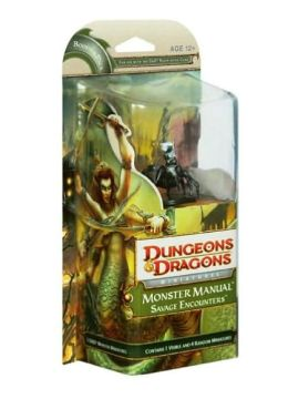Monster Manual: Savage Encounters: A Dungeons & Dragons Miniatures Expansion