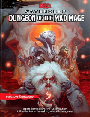 Book D&D Waterdeep Dungeon of the Mad Mage