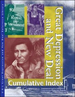 Great Depression and New Deal: Cumulative Indes