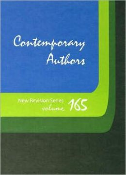 Contemporary Authors New Revision Series Vol 165