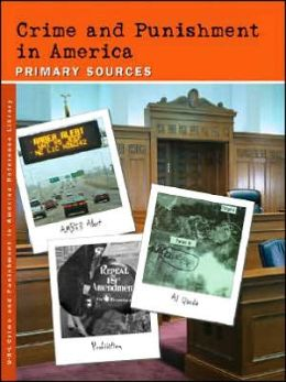 Crime and Punishment in America Reference Librry plus Index