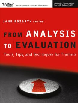 From Analysis to Evaluation: Tools, Tips, and Techniques for Trainers (w/CD)