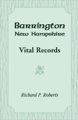 Barrington, New Hampshire, Vital Records