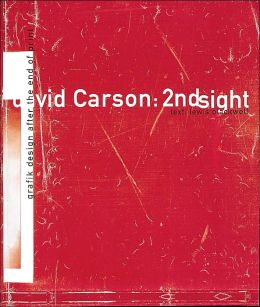 David Carson: Grafik Design after the End of Print