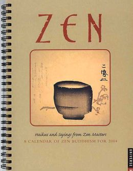 2004 Zen Weekly Engagement Calendar