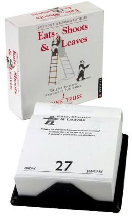 2006 Eats, Shoots & Leaves Box Calendar