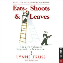 2007 Eats Shoots and Leaves Box Calendar