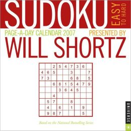 2007 Will Shortz's Sudoku Box Calendar