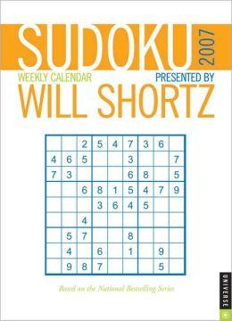 2007 Sudoku by Will Shortz Engagement Calendar
