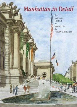 Manhattan in Detail: An Intimate Portrait in Watercolor