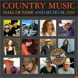 2009 Country Music Hall of Fame Wall Calendar