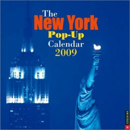 2009 New York Pop-up Wall Calendar