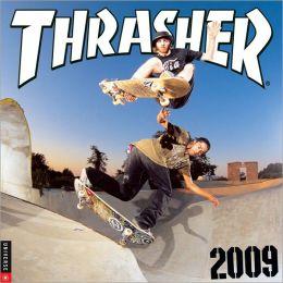 2009 Thrasher Skateboard Wall Calendar