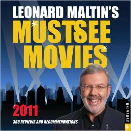 2011 Leonard Maltin's Must-See Movies Box Calendar