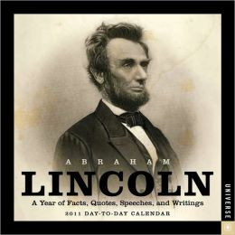 2011 Abraham Lincoln Box Calendar