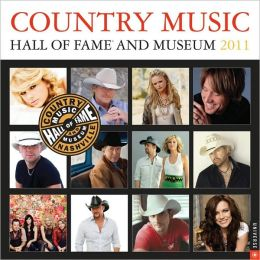 2011 Country Music Hall of Fame Wall Calendar