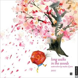 2011 Long Walks in the Woods Wall Calendar