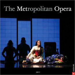 2011 Metropolitan Opera Wall Calendar