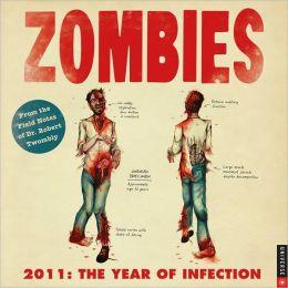2011 Zombies Wall Calendar