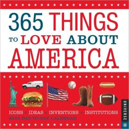 2012 365 Things to Love about America Box Calendar