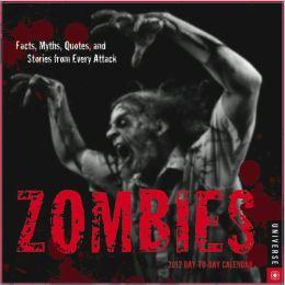 2012 Zombies Box Calendar