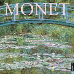 2012 Monet Wall Calendar