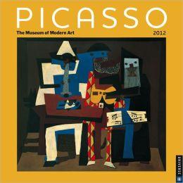 2012 Picasso Wall Calendar