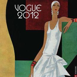 2012 Vogue Wall Calendar