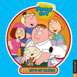 2014 Family Guy Day-to-Day Calendar