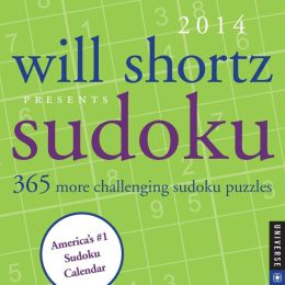 2014 Will Shortz Presents Sudoku Day-to-Day Calendar